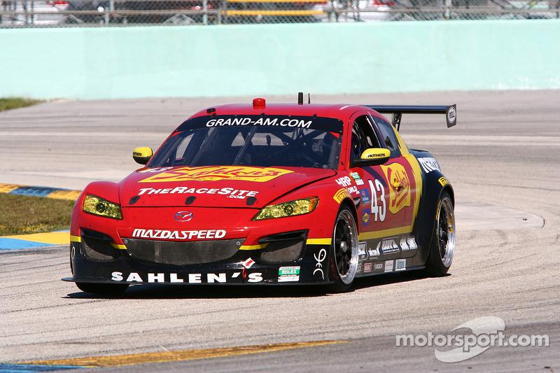 #43 Team Sahlen Mazda RX-8: Joe Nonnamaker, Wayne Nonnamaker