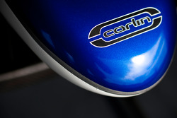 Carlin logo on the car of Luca Foresti