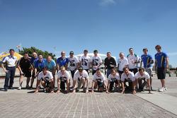 WRC Controladores de cambian caballos de fuerza para footpower y ejecutan 1.5kms en ayuda de Sport Relief