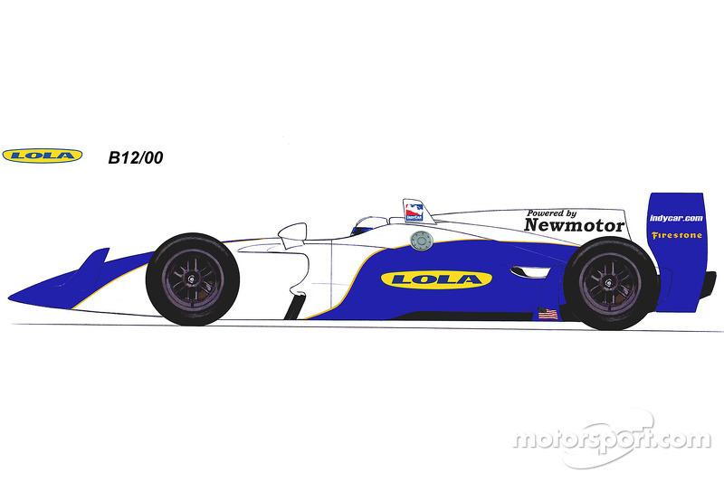 Rendering Lola 2012 B12/00 IndyCars