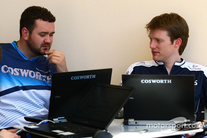 Cosworth en Williams engineers