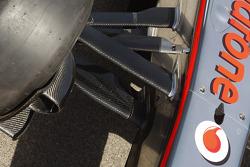 McLaren front suspension
