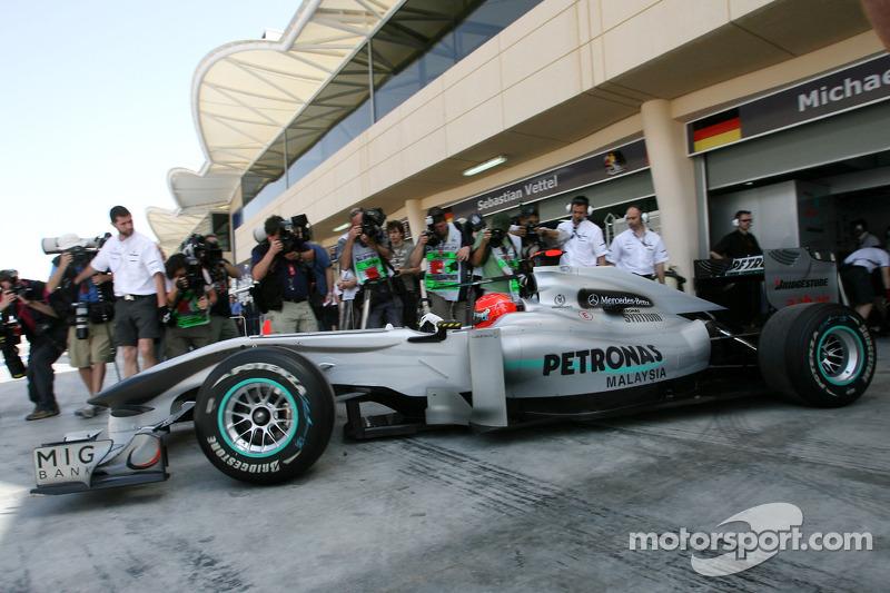 2010: Michael Schumacher, Mercedes W01