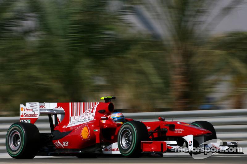 2010 - Fernando Alonso, Ferrari