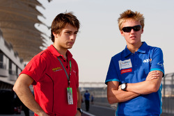 Max Chilton and Edoardo Piscopo