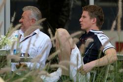 Willi Weber, Driver Manager, Nico Hulkenberg, Williams F1 Team