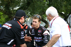 Ryan Briscoe, Team Penske and Roger Penske