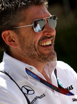 Nick Fry, Chief Executive Officer, Mercedes GP
