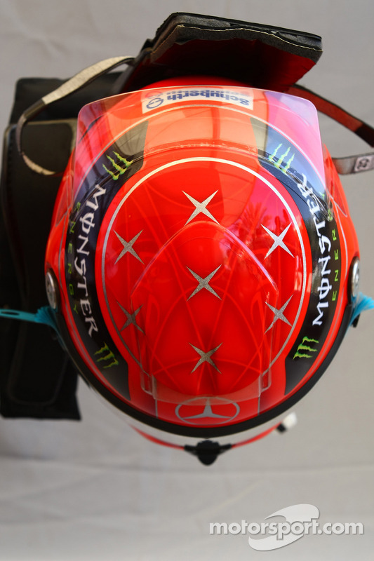 Michael Schumacher, Mercedes GP helm