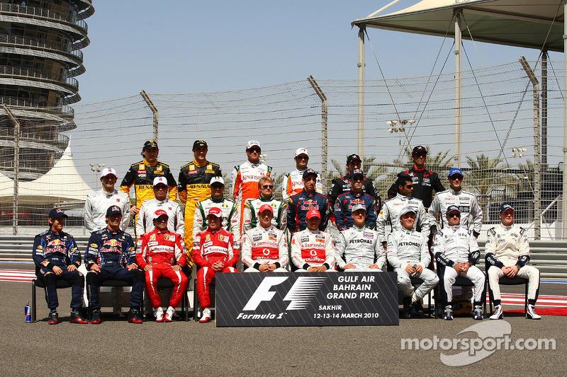 2010 Formula 1 sezonu pilotları