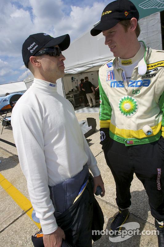 Marino Franchitti en Chris Dyson