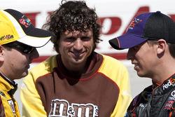 Kyle Busch, Joe Gibbs Racing Toyota and Denny Hamlin, Joe Gibbs Racing Toyota