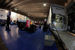 Dale Coyne Racing paddock