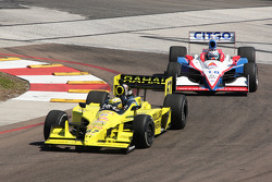 Graham Rahal, Sarah Fisher Racing and Milka Duno, Dale Coyne Racing
