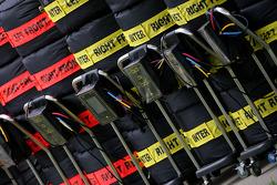 BMW Sauber F1 Team spare tyres