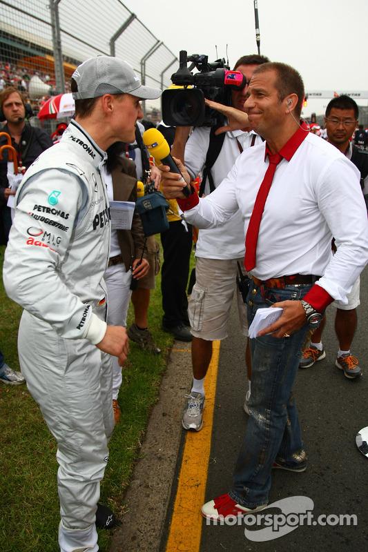 Michael Schumacher, Mercedes GP en Kai Ebel