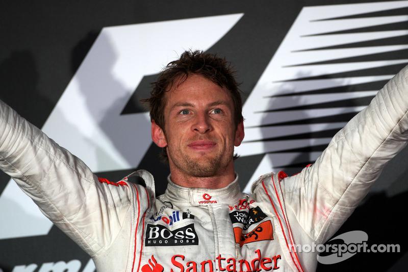 Jenson Button (McLaren), ganador GP Australia 2010