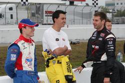 Alex Lloyd, Dale Coyne Racing, Graham Rahal, Sarah Fisher Racing and Will Power, Team Penske