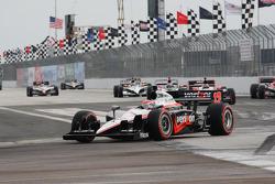 Pace lap: Will Power, Team Penske