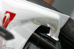 BMW Sauber F1 Team rear wing detail