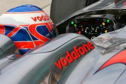 Jenson Button, McLaren Mercedes steering wheel