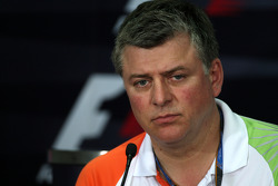 Otmar Szafnauer Force India F1 Chief Operating Officer