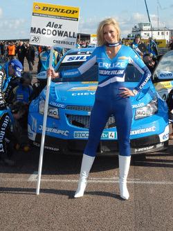 Alex MacDowall's grid girl