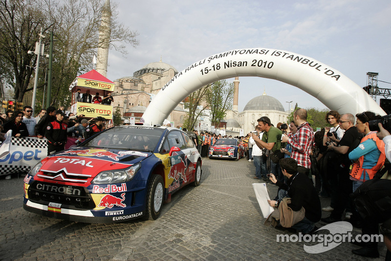 Daniel Sordo and Marc Marti, Citroën C4 Citroën Total World Rally Team