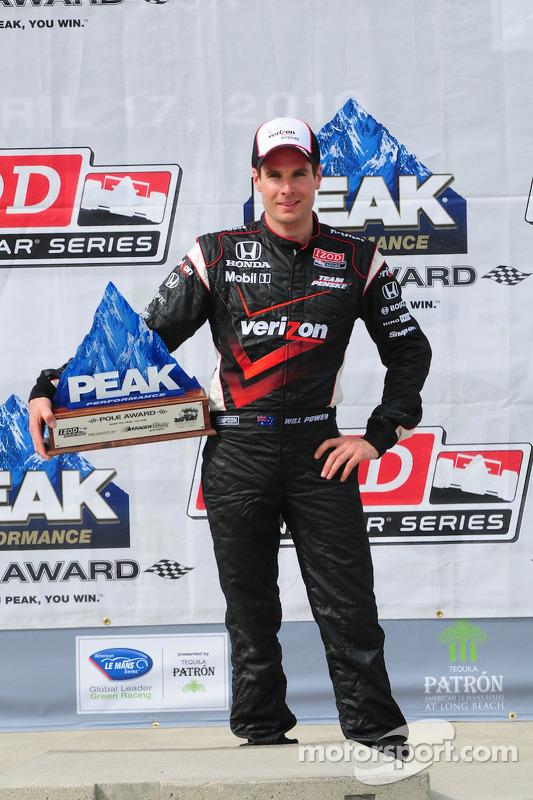 Will Power, Team Penske met pole award