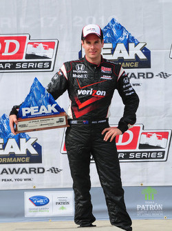 Will Power, Team Penske with his pole award