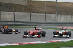 Фернандо Алонсо, Scuderia Ferrari и Адриан Сутиль, Force India F1 Team