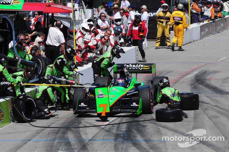 Danica Patrick, Andretti Autosport maakt een pitstop