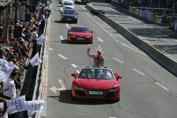 Timo Scheider, Audi Sport Team Abt Audi A4 DTM et la nouvelle Audi R8 Spider