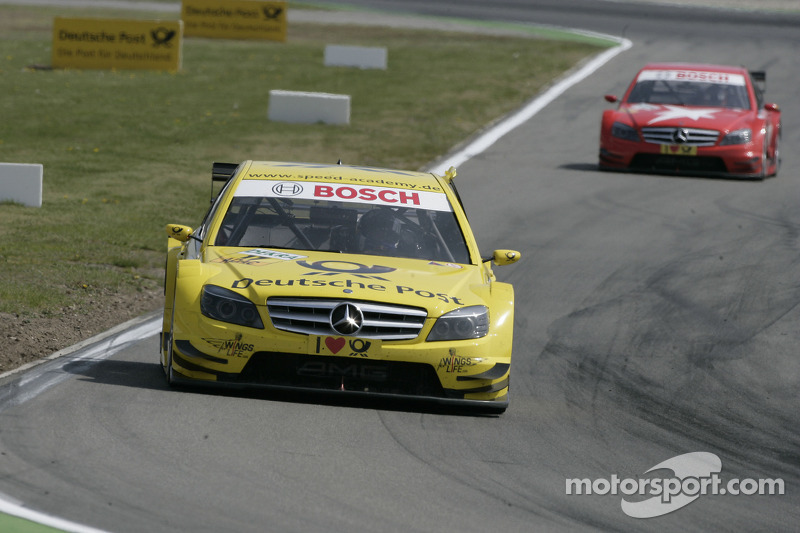 David Coulthard, Mücke Motorsport, AMG Mercedes C-Klasse