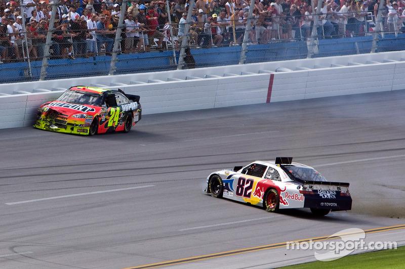 Frühjahr 2010: Crash mit Jeff Gordon und Scott Speed