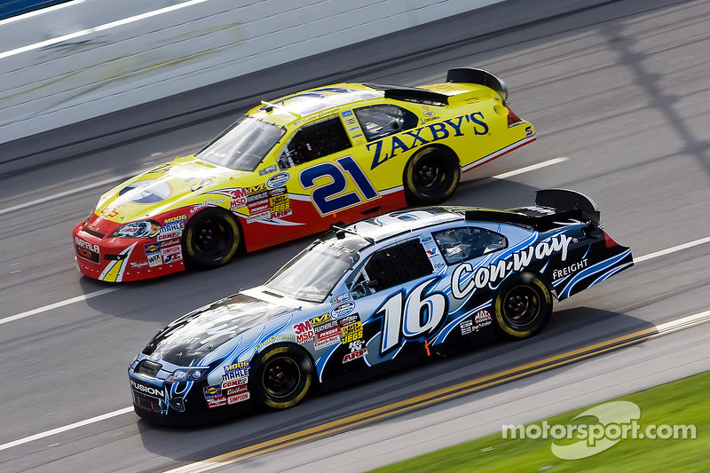 Colin Braun en Clint Bowyer