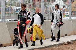 Nicola de Marco, Benjamin Bailly, Will Bratt