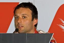 Pole winner Darren Turner