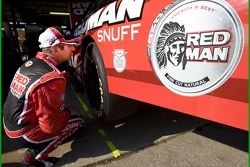 Greg Biffle takes a look at damage