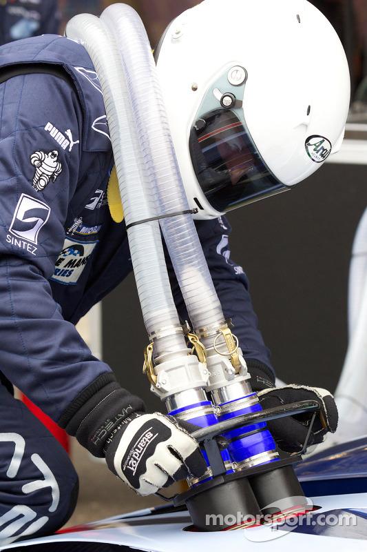 Pitstop #60 Matech Competition Ford GT: Thomas Mutsch, Jonathan Hirschi, Mathias Beche