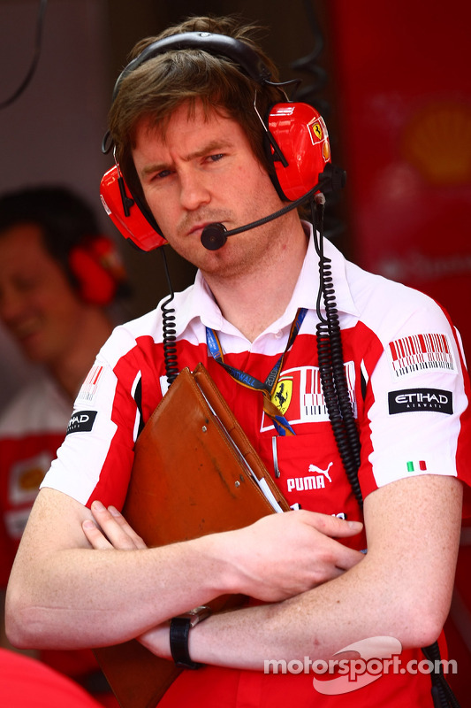 Rob Smedley, Scuderia Ferrari, Chief Engineer Felipe Massa