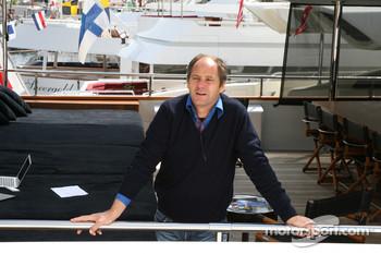 Berger is quite happy in Monaco