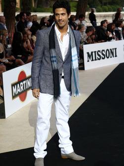 Lucas di Grassi, Virgin Racing, Amber Lounge Fashion Show