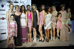 The ladies and girlfriends in Formula 1, Amber Lounge Fashion Show