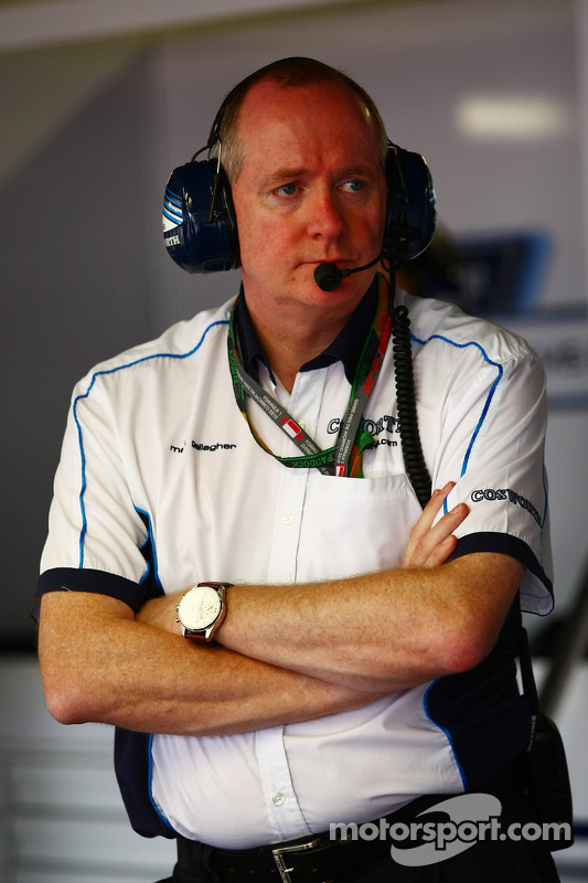 Mark Gallagher, algemeen manager van Cosworth's F1 Business Unit