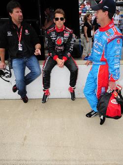 Michael Andretti, Marco Andretti and John Andretti