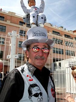 Een fan van Michael Schumacher, Mercedes GP Petronas