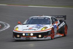 #43 Hankook Team Farnbacher Ferrari F430 GTC: Dominik Farnbacher, Allan Simonsen, Leh Keen, Marco Seefriend