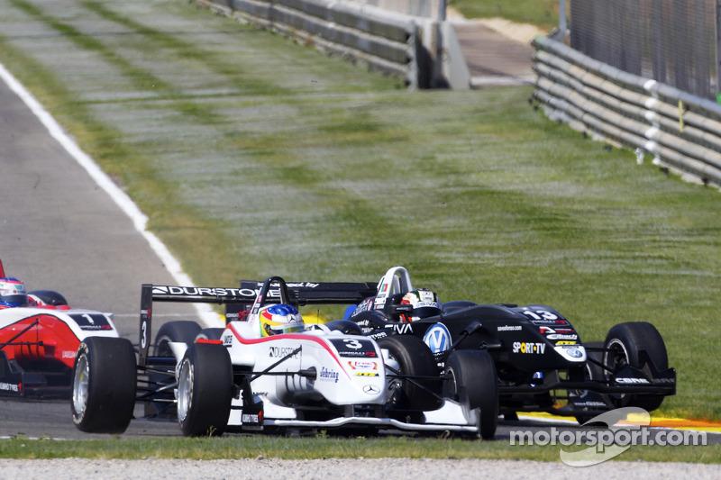Roberto Merhi, Mücke Motorsport Dallara F308 Mercedes en Antonio Felix da Costa, Motopark Academy Da