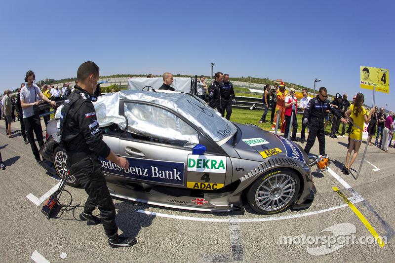 Auto van Bruno Spengler, Team HWA AMG Mercedes C-Klasse